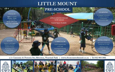 Little Mount – Applications NOW OPEN for 2019!