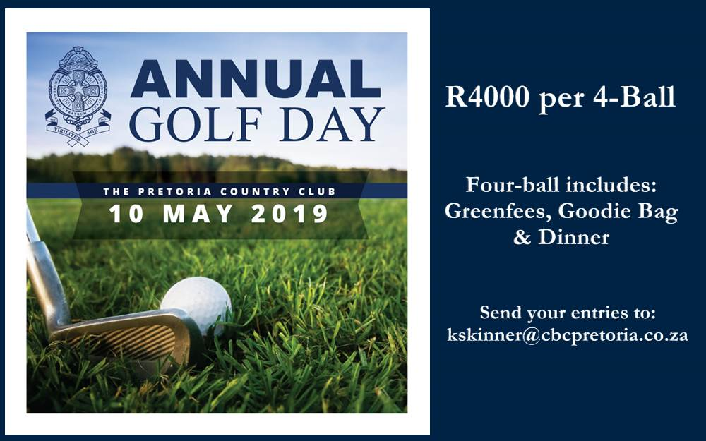 CBC Mount Edmund Annual Golf Day – 10 May 2019